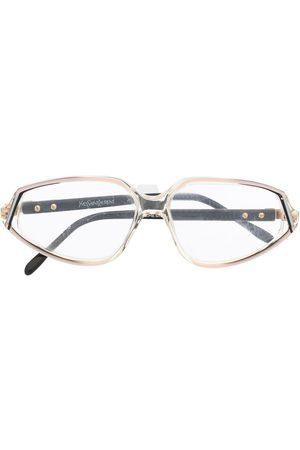 Yves Saint Laurent Ženy Sluneční brýle - 1980s oval-frame glasses
