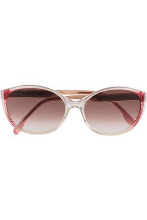 Yves Saint Laurent Ženy Sluneční brýle - 1980s gradient round-frame sunglasses