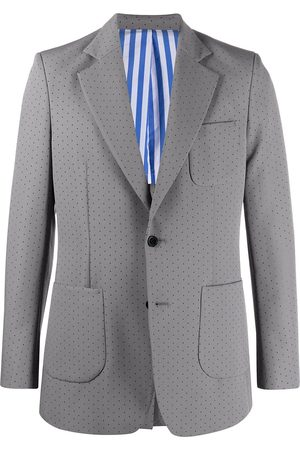 Viktor & Rolf Muži Obleky - Perforated-detail single-breasted suit