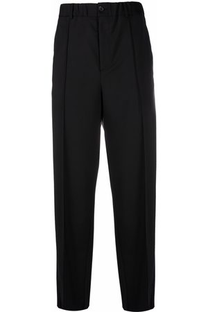 VALENTINO Muži Společenské - Tailored straight-leg trousers