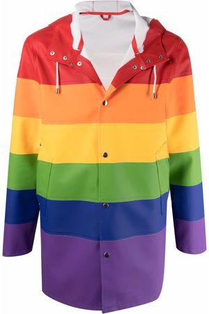 Stutterheim Pláštěnky - Stockholm rainbow-print raincoat