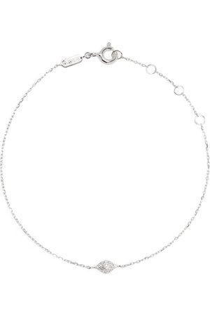 DJULA Ženy Náramky - 18kt white gold Eye diamond chain bracelet