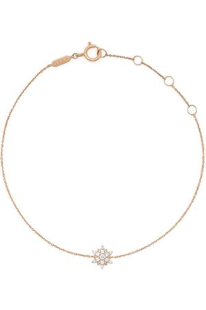 DJULA 18kt rose gold Sun diamond charm bracelet