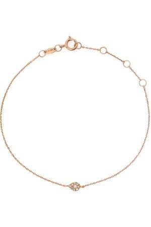 DJULA Ženy Náramky - 18kt yellow gold diamond pear chain bracelet