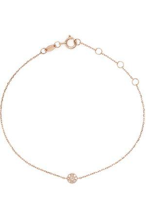 DJULA 18kt rose gold Target diamond chain bracelet