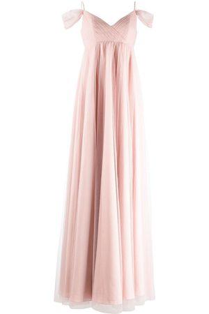 Marchesa Notte Ženy Letní - Isernia cold-shoulder bridesmaid gown