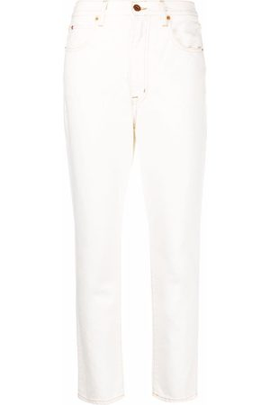 SLVRLAKE Mid-rise straight-leg jeans