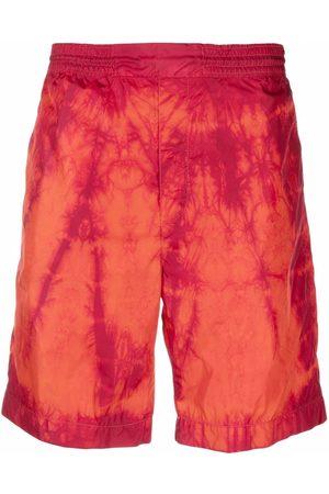 Acne Studios Muži Kraťasy - Tie-dye shorts