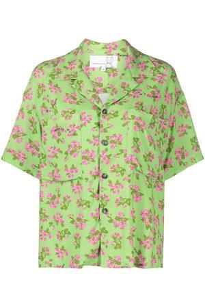 Natasha Zinko Floral-print short-sleeve shirt
