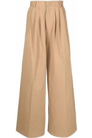 Liberal Youth Ministry High-waisted wide-leg trousers
