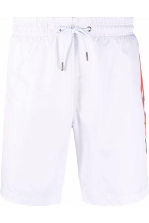 Philipp Plein Muži Šortky - Logo-print swimming shorts