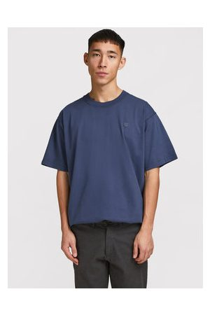 JACK & JONES Muži S límečkem - T-Shirt