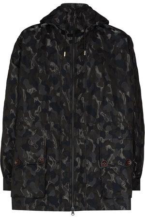 Labrum London Muži Parky - X Future Icons camouflage-print parka coat