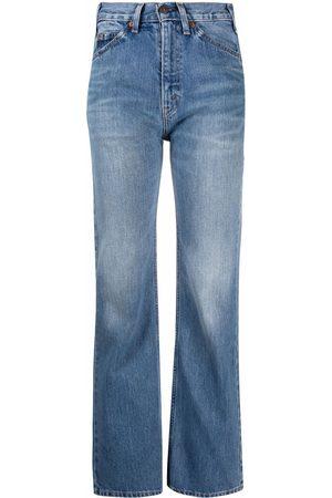 VALENTINO Ženy Bootcut - Bootcut high-rise jeans