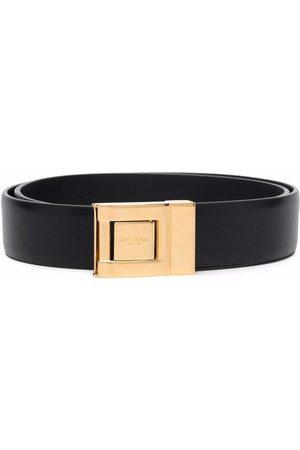Saint Laurent Ženy Pásky - Logo-engraved buckle belt