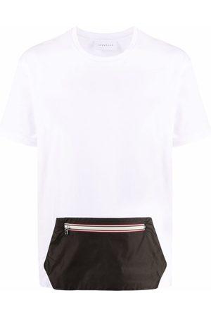 LOW BRAND Muži S krátkým rukávem - Zipper pouch-pocket T-shirt