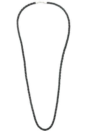 AMIR SLAMA X Julio Okubo woven leather necklace