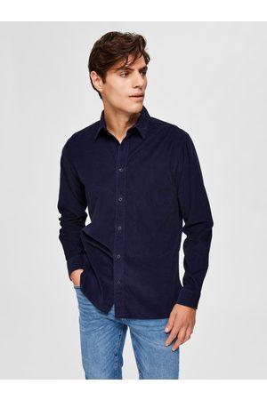 SELECTED Muži Košile - Manšestrová košile