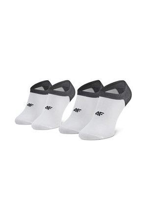 4F Muži Ponožky - Sada 2 párů pánských nízkých ponožek
