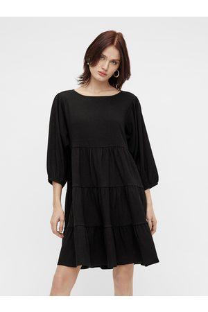 Object Černé volné šaty Sif