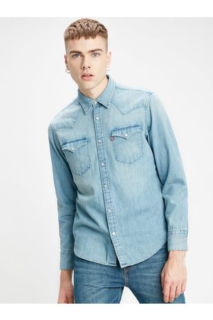 Levi's Pánská džínová košile Barstow Western