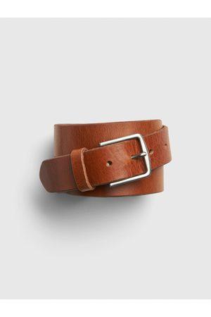 GAP Hnědý pánský pásek new classic belt