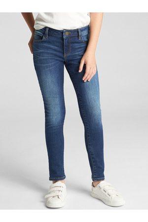 GAP Modré holčičí džíny Super skinny