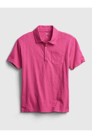 GAP Růžové klučičí dětské polo tričko ss jrsy grncamo xl