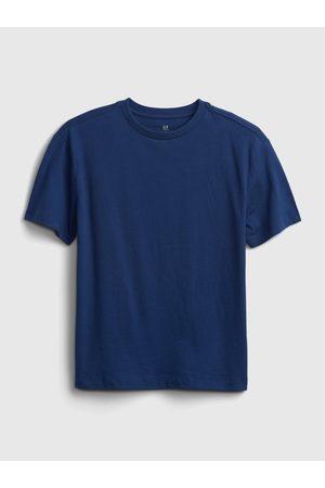 GAP Modré klučičí dětské tričko gen good t-shirt