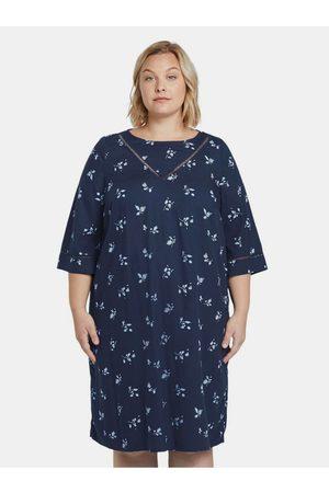My True Me Tom Tailor Tmavě modré dámské květované šaty