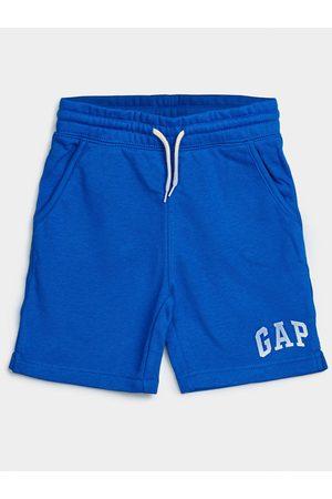 GAP Modré klučičí dětské kraťasy Logo franch shorts