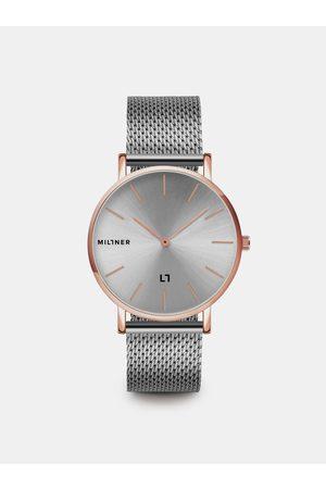 Millner Dámské hodinky s nerezovým páskem ve stříbrné barvě Mayfair