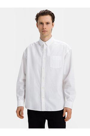 GAP Pánská košile ls ox oversized