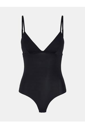 Pieces Černé tvarující body Ella
