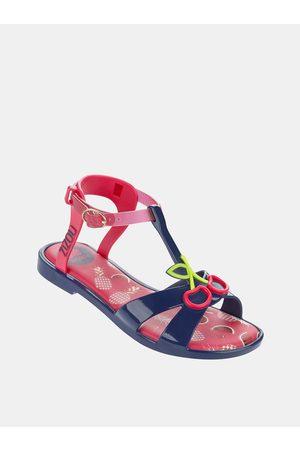 Zaxy Modro-růžové holčičí sandály