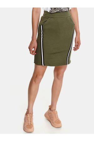Top Secret Pouzdrová sukně s lampasem