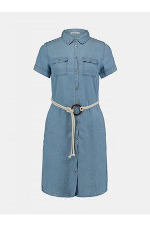 Hailys Modré košilové šaty Haily´s Penny