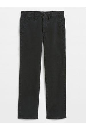 GAP Černé klučičí kalhoty Chino