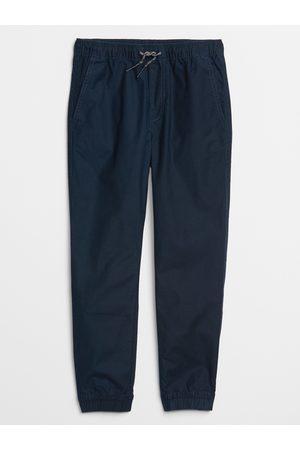 GAP Modré klučičí dětské kalhoty v-td eday jogger