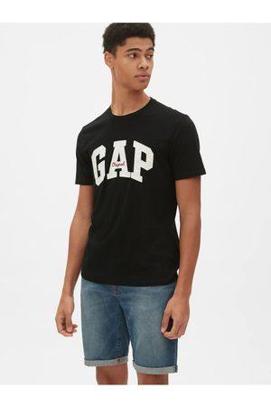 GAP Černé pánské tričko Logo
