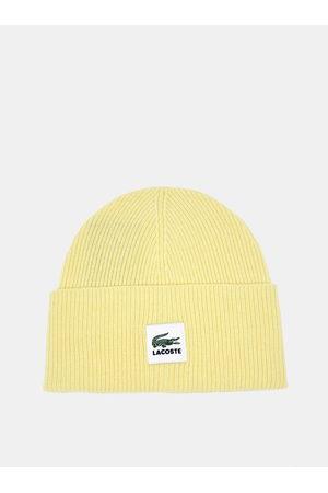 Lacoste Žlutá dámská vlněná čepice