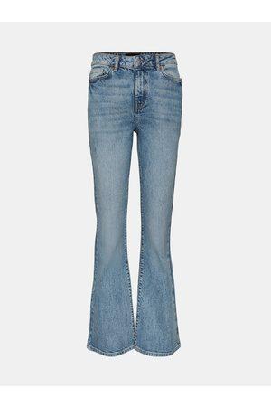 VERO MODA Světle modré flared džíny Siga