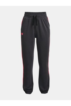 Under Armour Tepláky - Tepláky Rival Terry Taped Pant