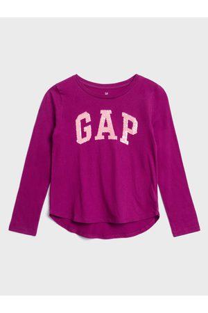 GAP Fialové holčičí tričko Logo