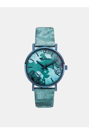 Tamaris Dámské hodinky s tyrkysovým páskem