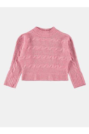 NAME IT Růžový holčičí svetr Ottie