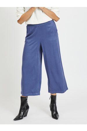 VILA Modré culottes Fanza