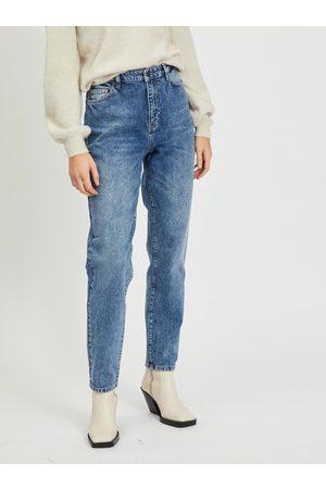 Object Modré mom fit džíny