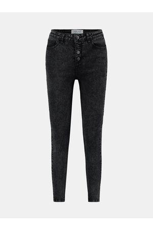 Hailys Černé skinny fit džíny