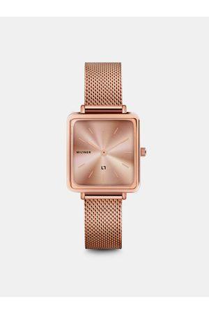 Millner Dámské hodinky s nerezovým páskem v růžovozlaté barvě Royal